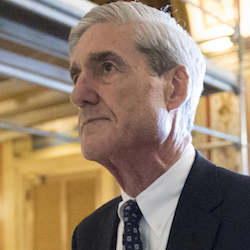 Special counsel Robert Mueller departs after a meeting on Capitol Hill in Washington, June 21, 2017. Mueller is set to reveal more details about his Russia investigation as he faces court deadlines in the cases of two men who worked closely with President Donald Trump. (AP Photo/J. Scott Applewhite, File)