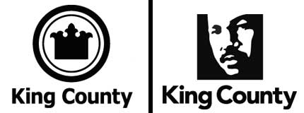 king county logo old new