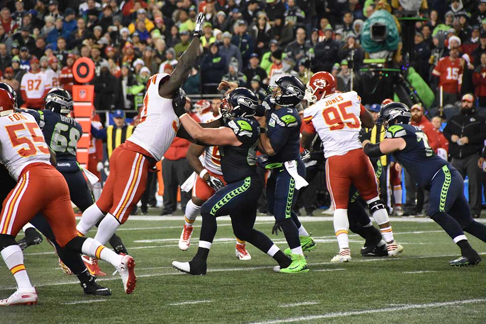 Seahawks Chiefs game december 23, 2018