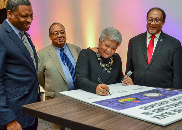 NNPA NAACP Sign instory