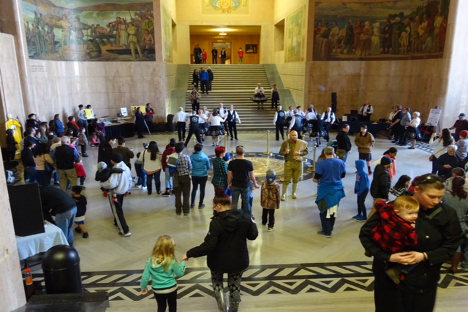 Celebration at the State Capitol