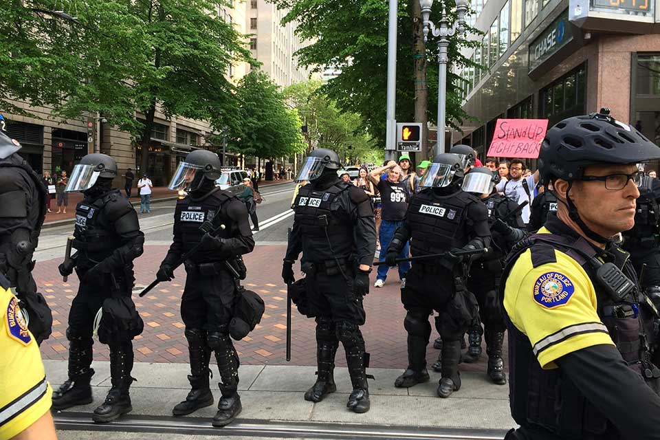 portland police may day 2015