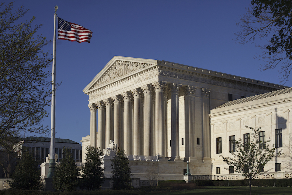 The Supreme Court in Washington, Tuesday, April 4, 2017. The Supreme Court has already heard, but not decided, a major case about political line-drawing that has the potential to reshape American politics. Now the high court is taking up another and its decision to do so is a lingering mystery that likely won't be resolved until June. (AP Photo/J. Scott Applewhite, File)