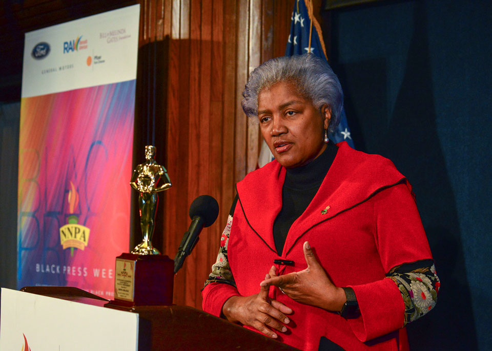 donna brazile black press week
