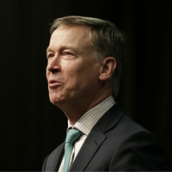 Democratic president candidate, former Colorado Gov. John Hickenlooper. (AP Photo/Seth Wenig, File)