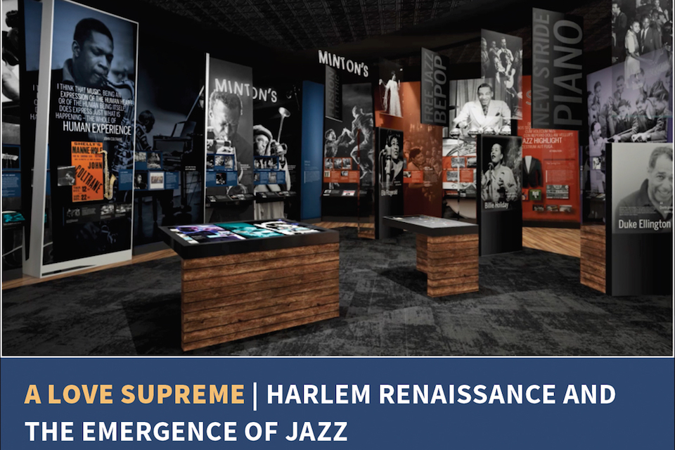 One of the galleries at the African American Museum of Music in Nashville scheduled to open in summer 2020