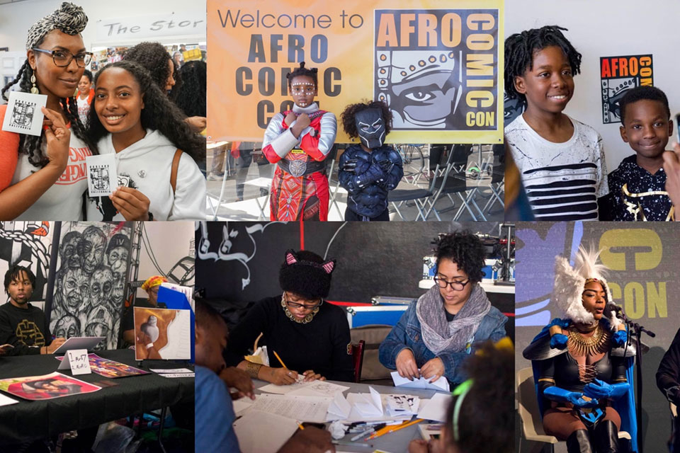 """(Convention-goers can) come away with a sense of ownership and collaboration."" —AfroComicCon founder Michael James"