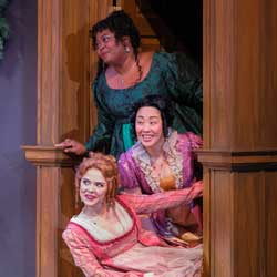 Kailey Rhodes, Cindy Im, Treasure Lunan (photo by Russell J. Young)