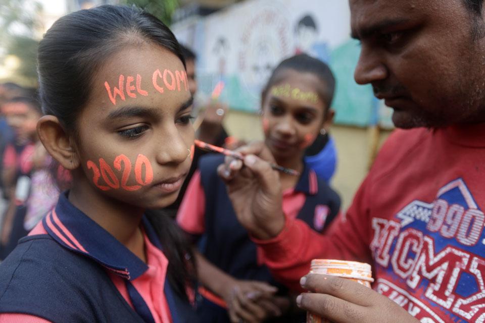 global 2020 new year india