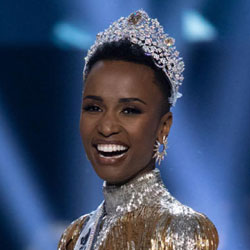 Zozibini Tunzi, the South Africa beauty queen was crowned Miss Universe