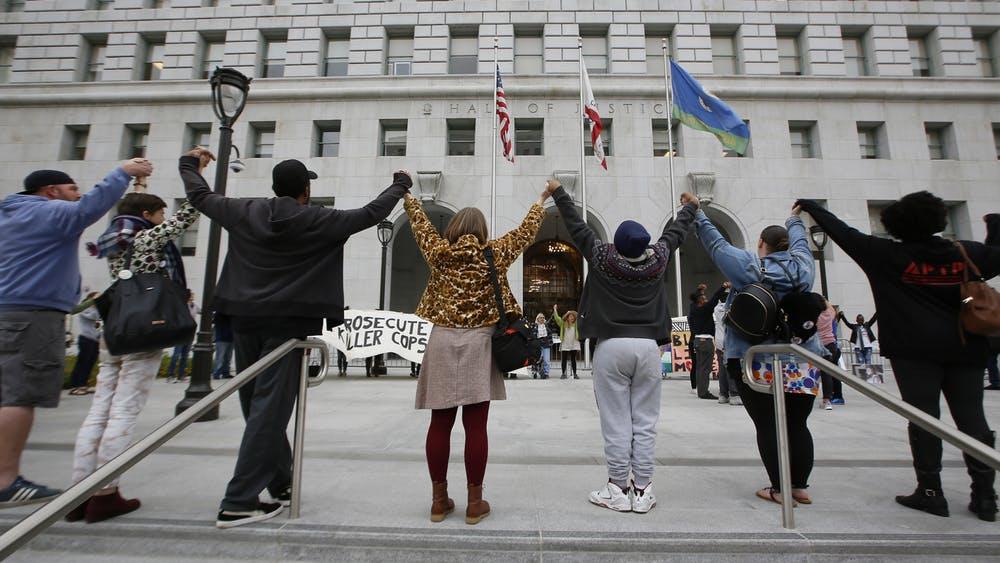 progressive prosecutors protestors