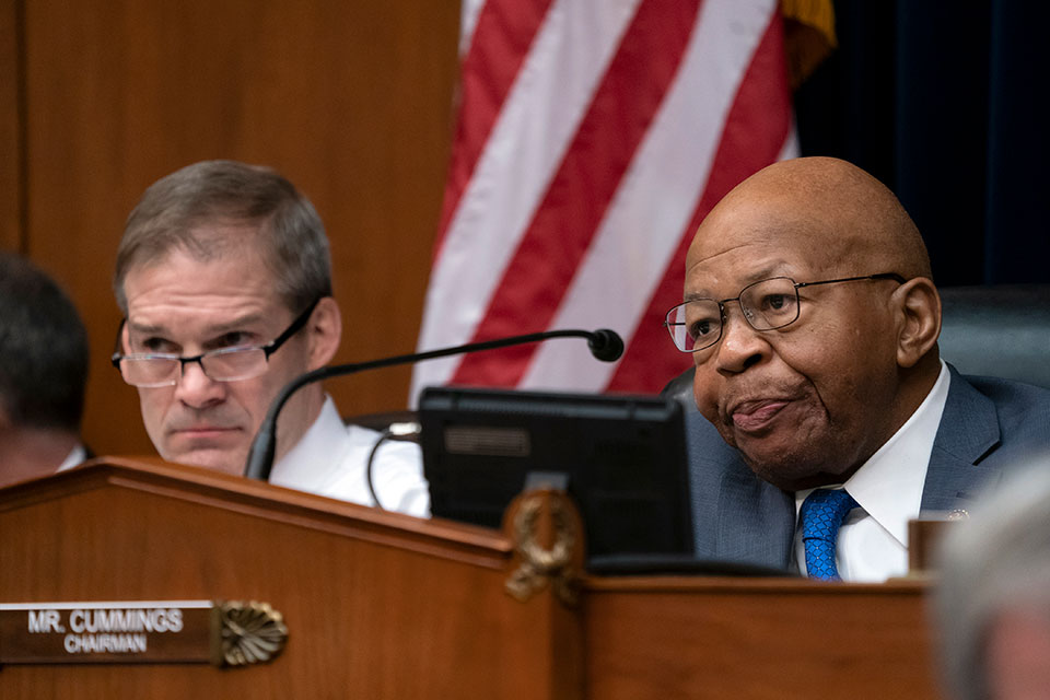 House Oversight and Reform Committee Chair Elijah Cummings, D-Md.