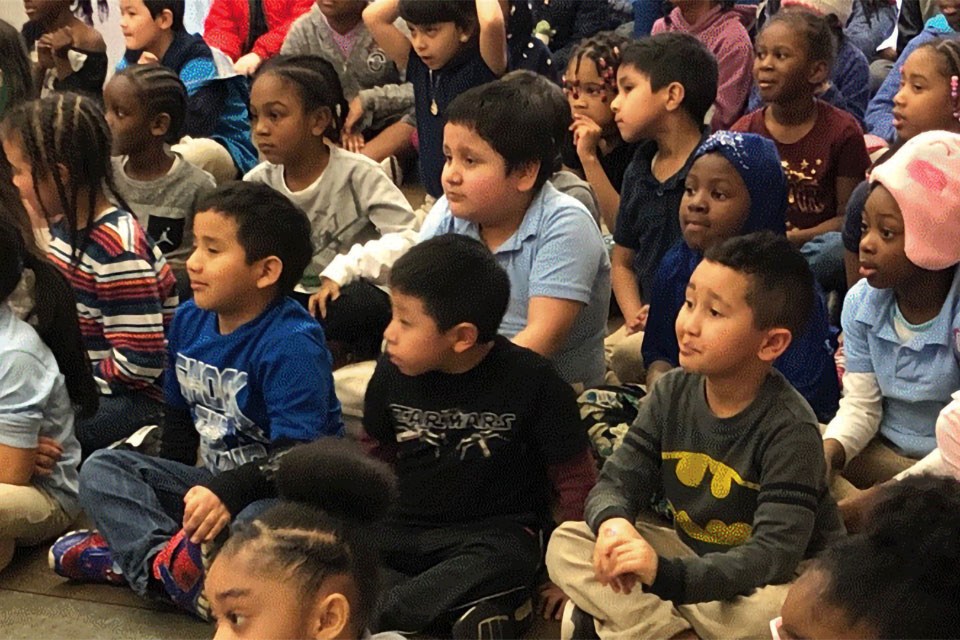 Rosa Parks Elementary School students. (Photo courtesy PPS)