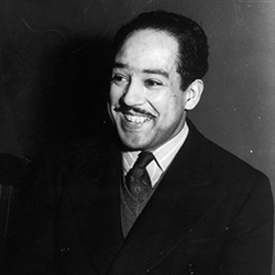 Langston Hughes. Library of Congress