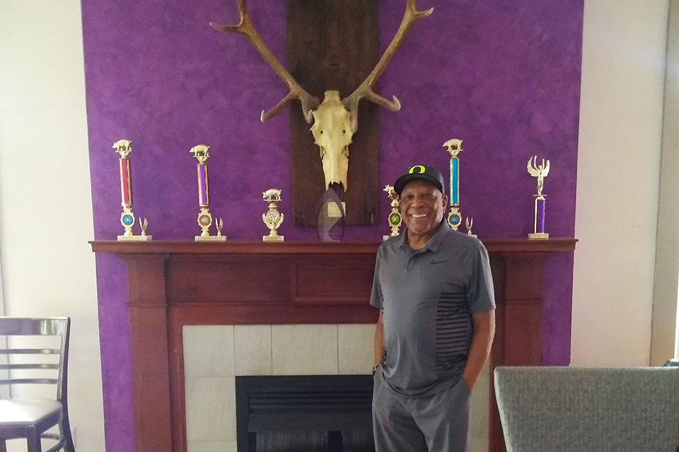 Billy Webb Elks Lodge president Louis McLemore hopes that a historic designation will make the lodge eligible for grants that can sustain the organization for years to come.