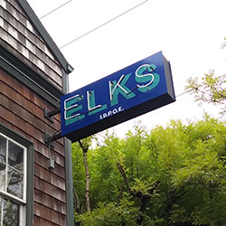 The Billy Webb Elks Lodge building was built in 1926 and has been owned by the Elks since 1959.