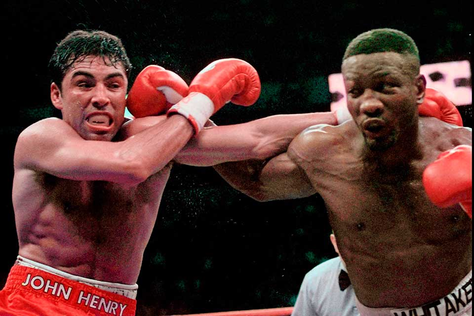 Oscar De La Hoya and Pernell Whitaker