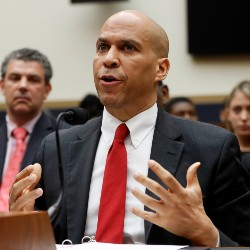 Democratic Presidential candidate Sen. Cory Booker (AP Photo/Pablo Martinez Monsivais)