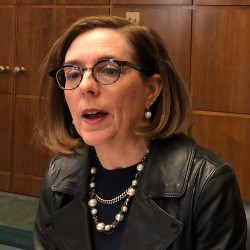 Oregon Gov. Kate Brown (AP Photo/Andrew Selsky, File)