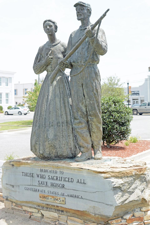 confederate monument georgia med