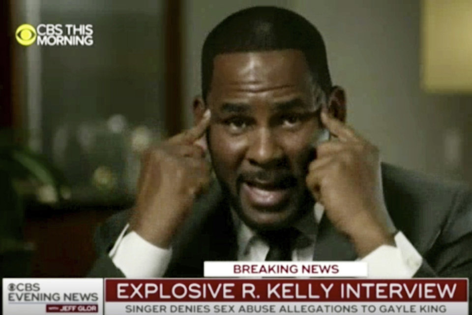 R Kelly on CBS news