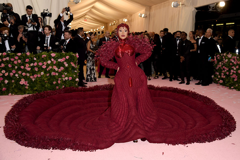 Cardi B at the MET Gala