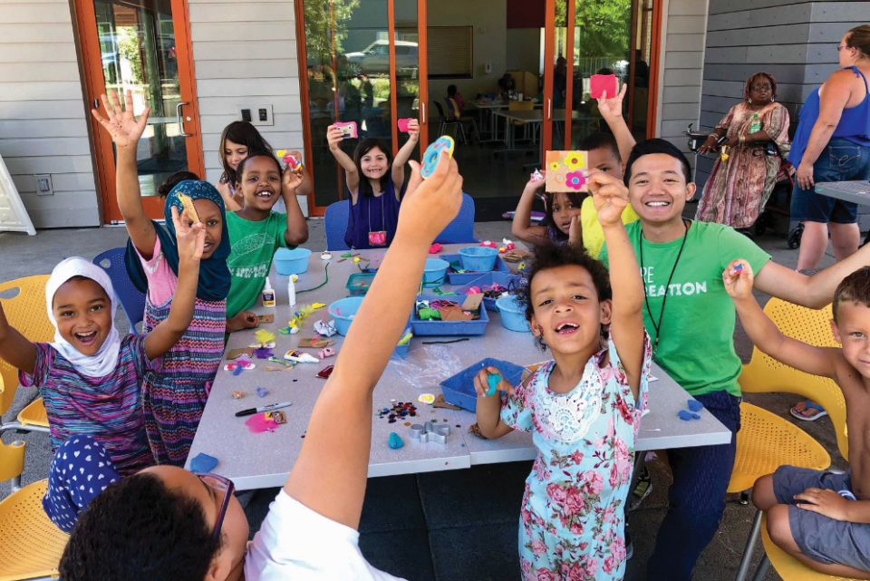 Portland Parks & Rec and a variety of other organizations are hosting free and low-cost summer programs for children this year. (Photo by Ben Brink courtesy of Portland Parks & Recreation)