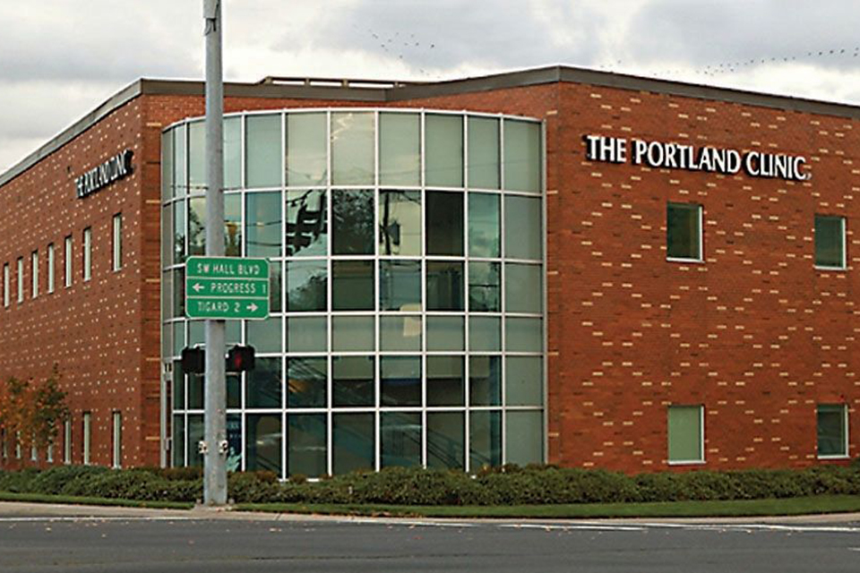 The Portland Clinic building