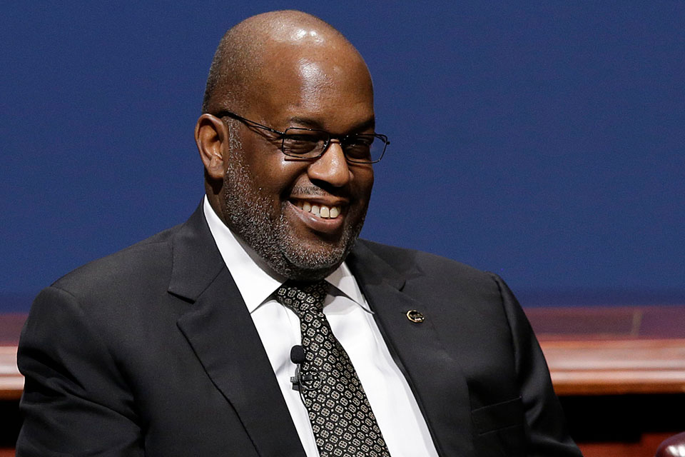 In this Friday, Feb. 13, 2015, file photo, Bernard Tyson, chairman and CEO of Kaiser Permanente