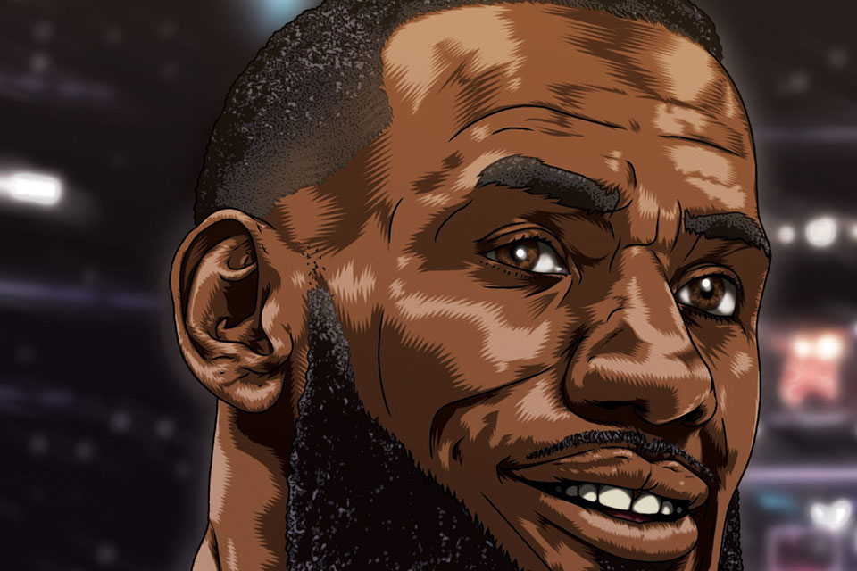 Cover art for Fame: LeBron James