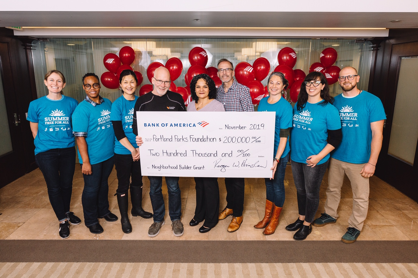 portland nonprofit grants med