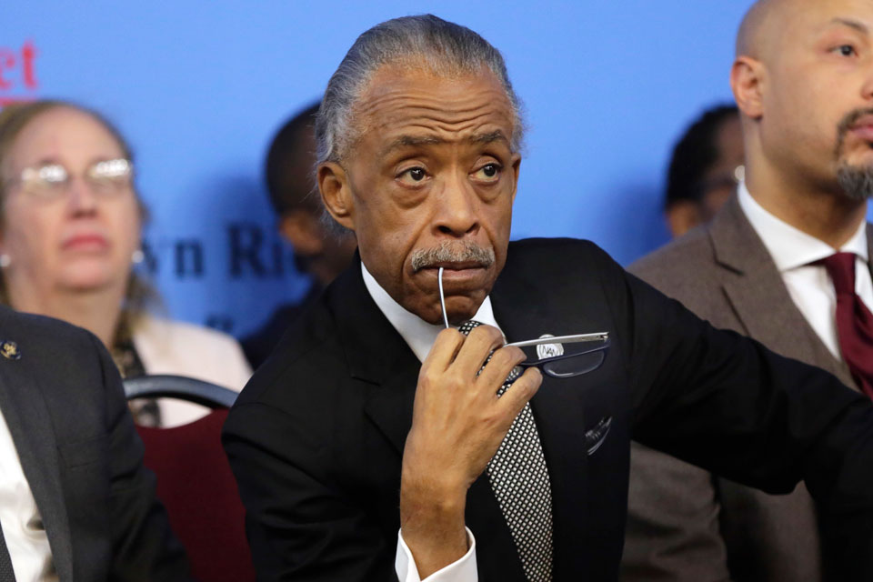 Sharpton Looks to Comfort Families After Police Shootings