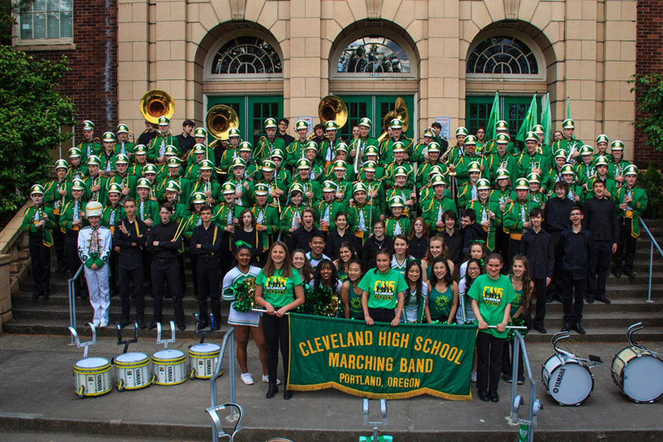 Cleveland High School Marching Band 2017