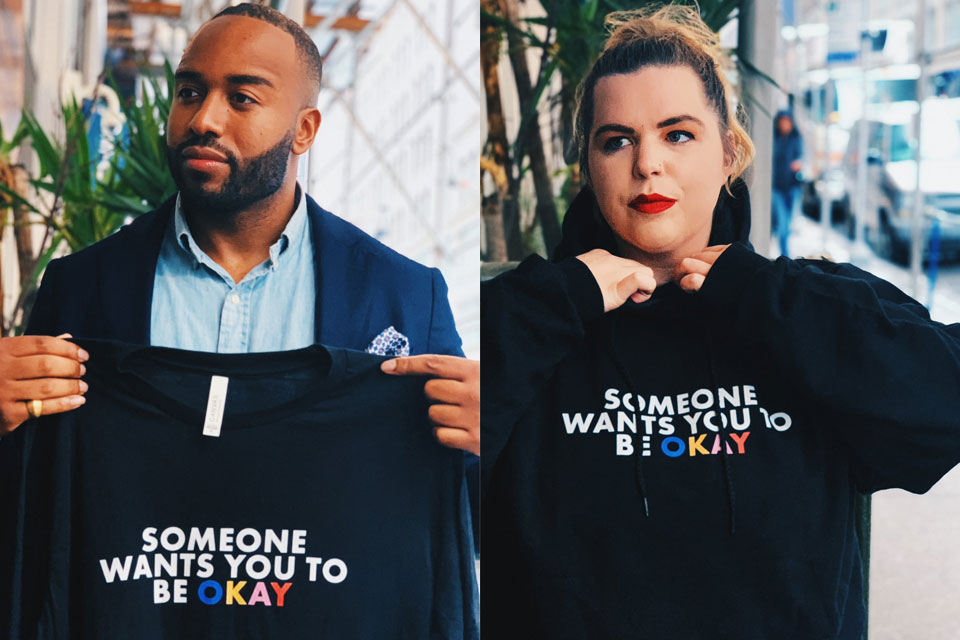 The founder of marketing agency We Have Stories, Frederick Joseph has partnered with Creative Director, Keri Goff to launch Someone Wants You To Be Okay for Mental Health Awareness Week.