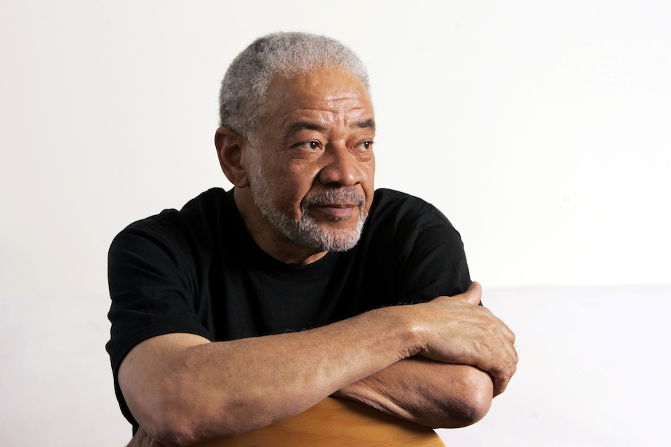 "Singer-songwriter Bill Withers poses in his office in Beverly Hills, Calif. June 21, 2006. Withers, who wrote and sang a string of soulful songs in the 1970s that have stood the test of time, including ""Lean On Me,"" ""Lovely Day"" and ""Ain't No Sunshine,"