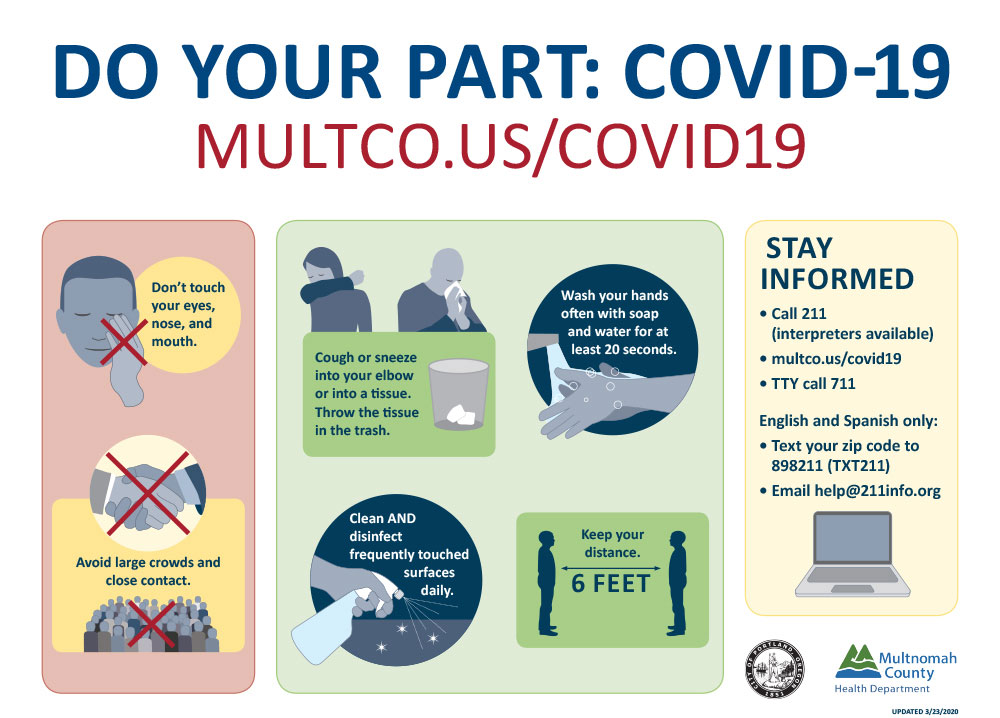 covid do your park mult