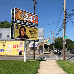 A billboard sponsored by O, The Oprah Magazine, is on display with with a photo of Breonna Taylor, Friday, Aug. 7, 2020 in Louisville, KY. Twenty-six billboards are going up across Louisville, demanding that the police officers involved in Taylor's death be arrested and charged. Taylor was shot multiple times March 13 when police officers burst into her Louisville apartment using a no-knock warrant during a narcotics investigation.
