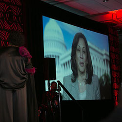 Kamala Harris speaks at the 2019 Annual NNPA Convention