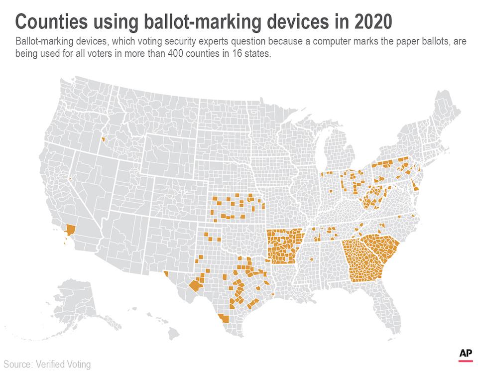 counties vote