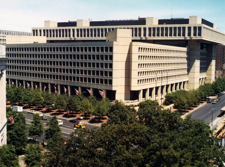 federal building brutist
