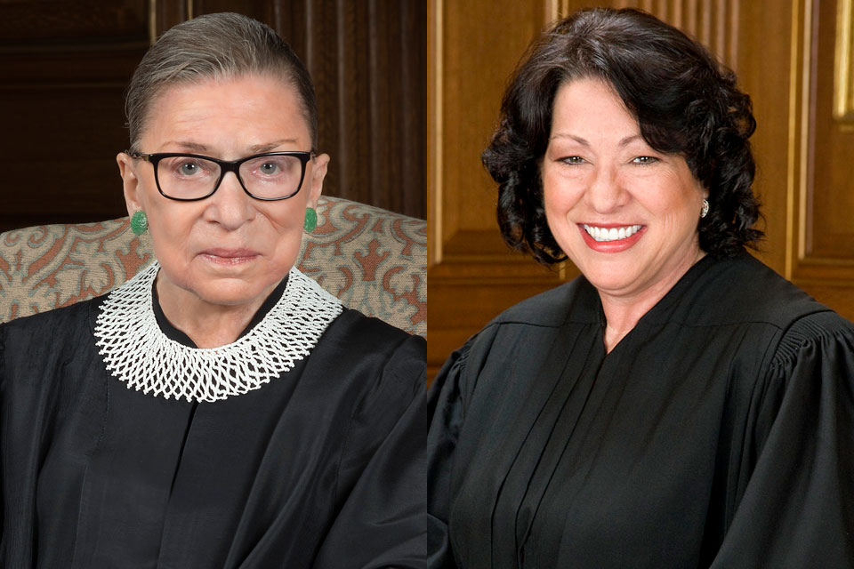 President Trump issued a statement calling for Justices Ginsburg and Sotomayor to recuse themselves from Supreme Court matters