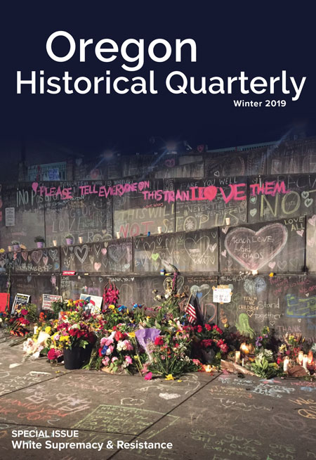 oregon historical society white supremacy issue cover
