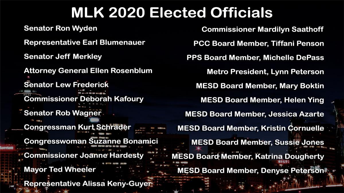 mlk2020 elected officials