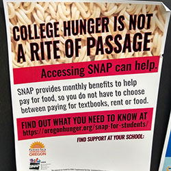 PCC campuses each have a Panther Pantry to combat food insecurity for their students, and to help students apply for SNAP.