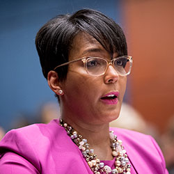 Atlanta Mayor Keisha Lance Bottoms (AP Photo/Andrew Harnik, File)