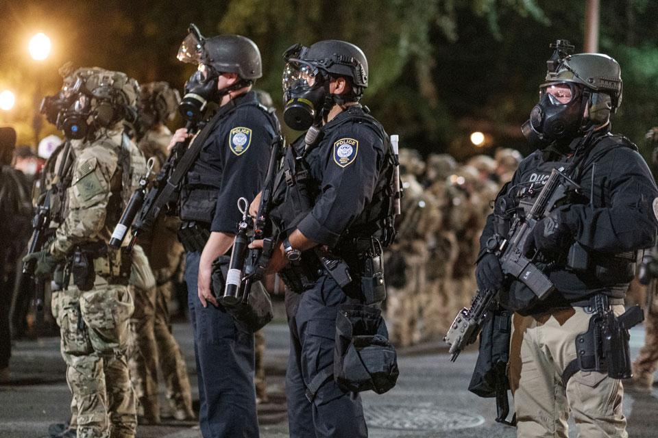 homeland security portland med