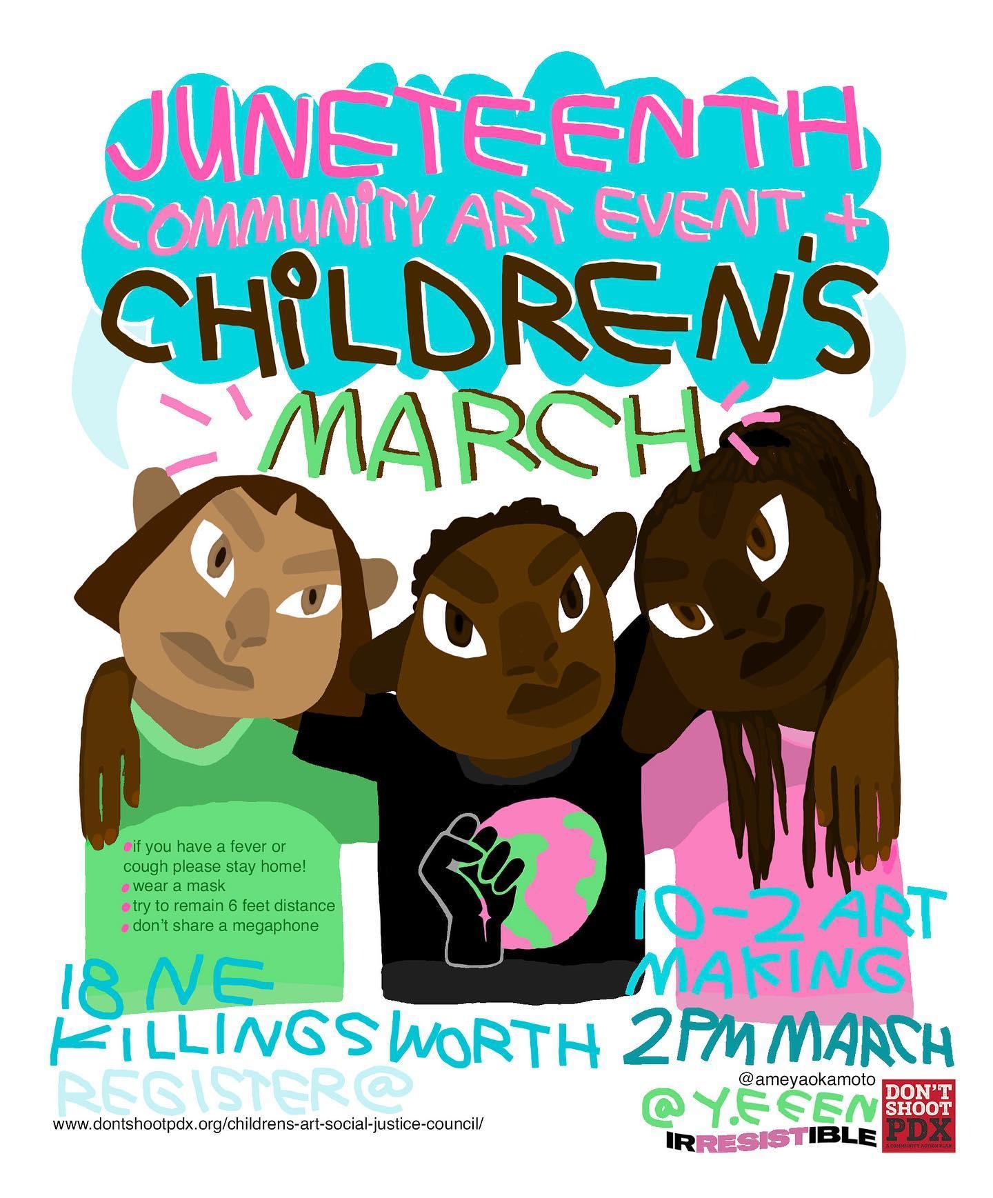 juneteenth childrens march