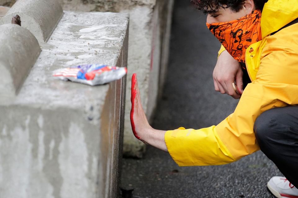 seattle peace zone paint