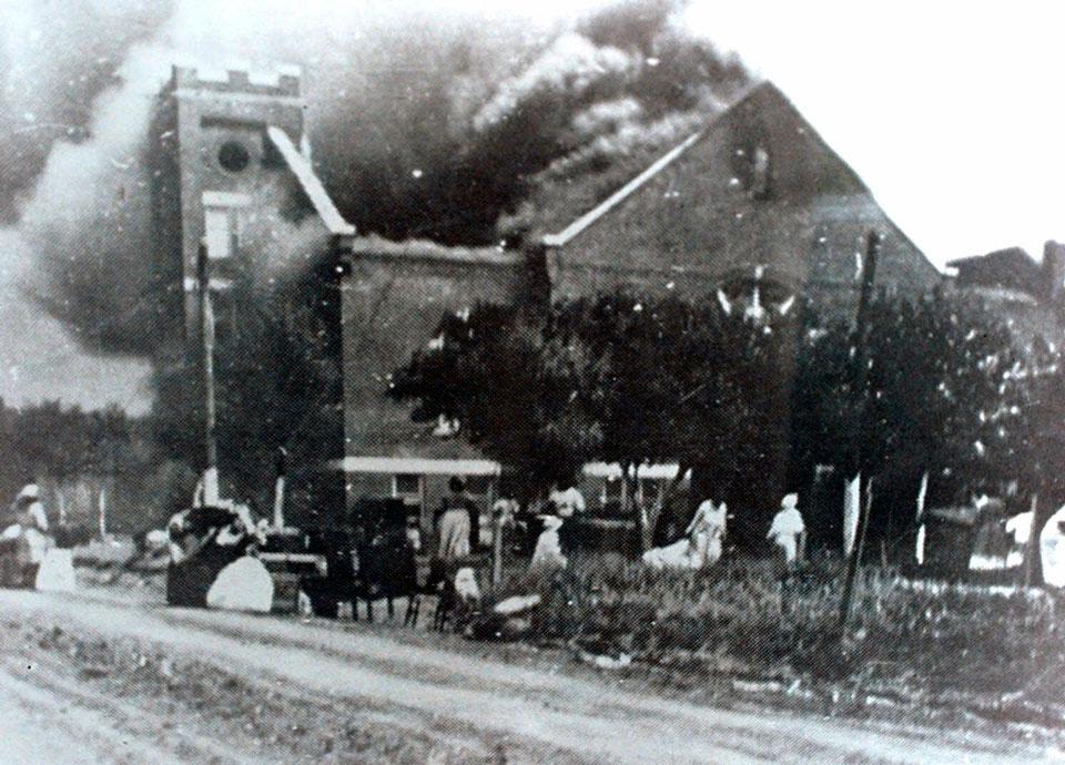 tulsa 1921 church burning