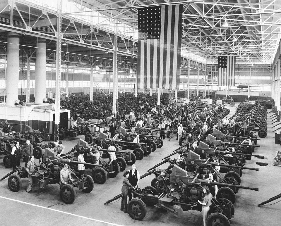 americans sacrifice vehicles factory